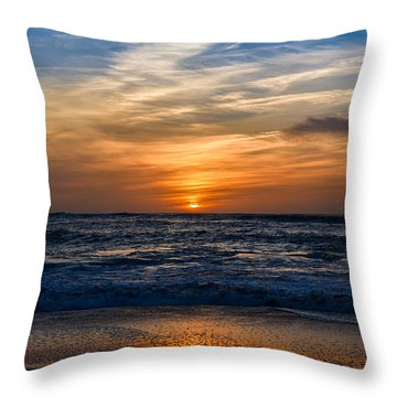 Throw Pillow featuring the photograph Color Sangre by Thierry Bouriat