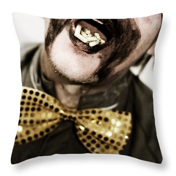 Dose Of Laughter Throw Pillow by Jorgo Photography - Wall Art Gallery