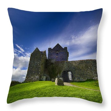 Dunguaire Castle Ireland Throw Pillow by Giovanni Chianese