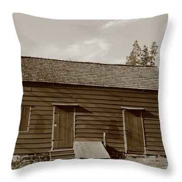 Farmhouse  Throw Pillow by Frank Romeo