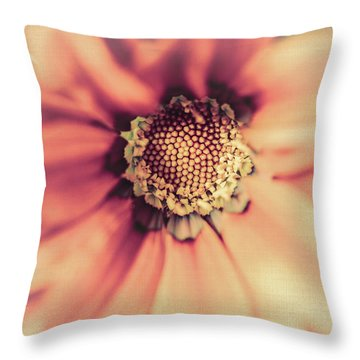 Flower Beauty II Throw Pillow by Marco Oliveira