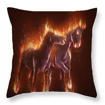 From Hell Throw Pillow by Kate Black