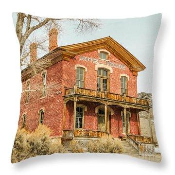 Hotel Meade Throw Pillow by Sue Smith