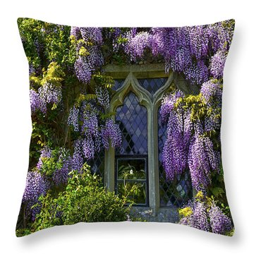 In Bloom Throw Pillow by Svetlana Sewell