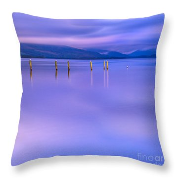 In The Realm Of Giants Throw Pillow by John Farnan