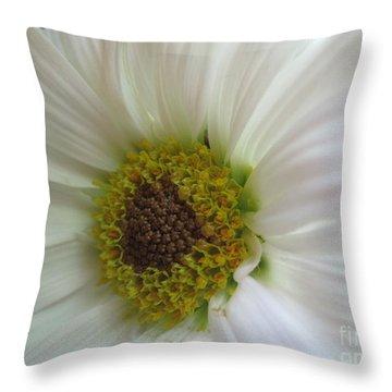 Innocence Throw Pillow by Tara  Shalton