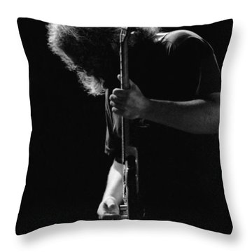 Jerry Sillow Throw Pillow by Ben Upham
