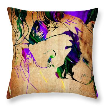 Joker Collection Throw Pillow by Marvin Blaine