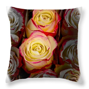 Love Is A Rose Throw Pillow by Al Bourassa