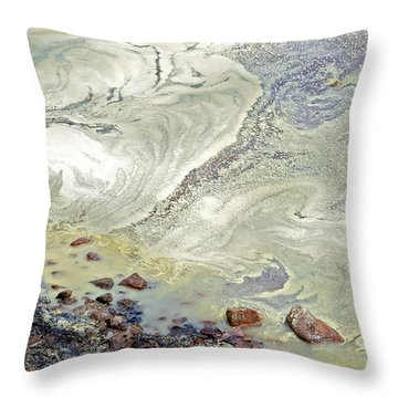 Natures Art Throw Pillow by Susan Leggett