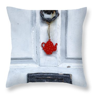 Old Door Throw Pillow by Joana Kruse