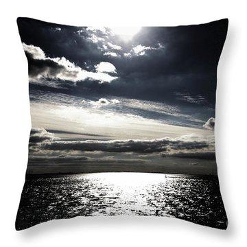 Peaceful Evening Throw Pillow by Four Hands Art
