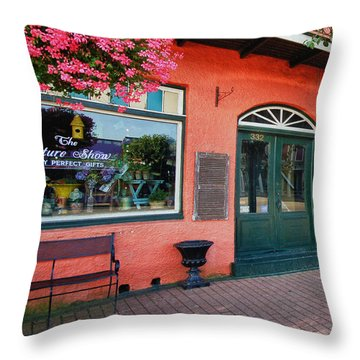 Picture Show Throw Pillow by Michael Thomas