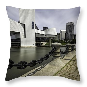 Rock And Roll Throw Pillow by James Dean