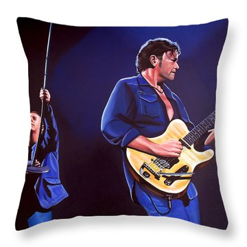Simple Minds Throw Pillow by Paul Meijering