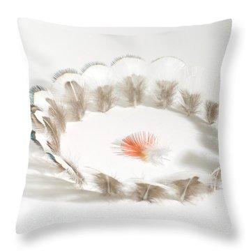Splash Throw Pillow by Chris Maynard