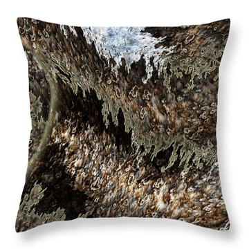 Tumult Throw Pillow by Christopher Gaston