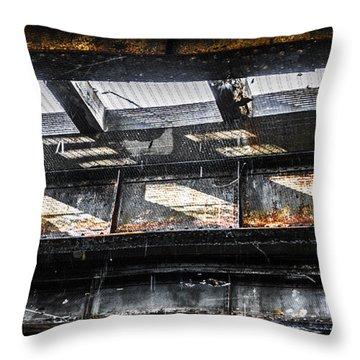 Under The Street Throw Pillow by Diane Diederich