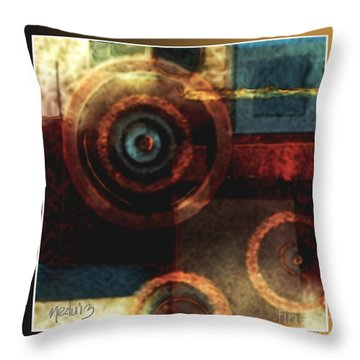 Untitled 353 Throw Pillow by Nedunseralathan R