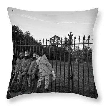 Untittled Throw Pillow by Mauricio Jimenez