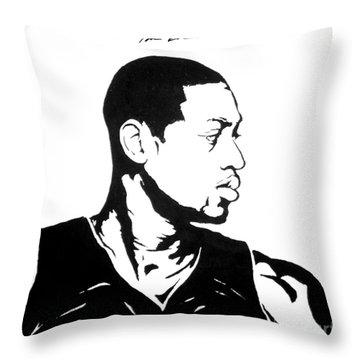 Wade Throw Pillow by Tamir Barkan