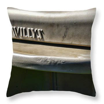 Throw Pillows Kmart : Willys Jeep Photograph by Paul Ward