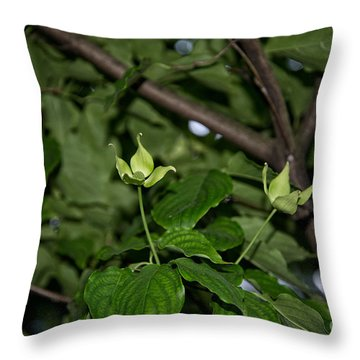 Forest Hill Gardens In Queens Throw Pillow by Carol Ailles