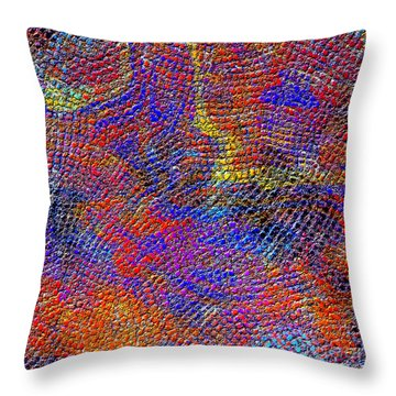 1429 Abstract Thought Throw Pillow by Chowdary V Arikatla