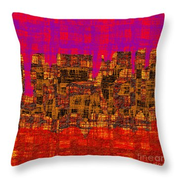 1457 Abstract Thought Throw Pillow by Chowdary V Arikatla