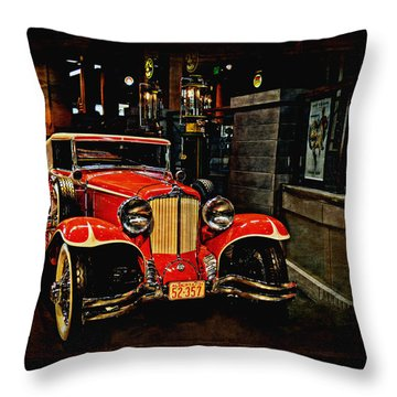 1931 Cord L-29 Throw Pillow by Maria Angelica Maira