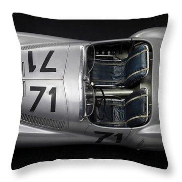 1937 Bmw 328 Bugelfalte Throw Pillow by Marvin Blaine