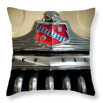 1948 Buick Roadmaster Throw Pillow by Sebastian Musial