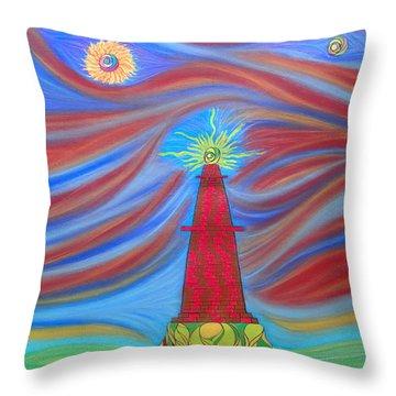 1kin Throw Pillow by Robert Nickologianis