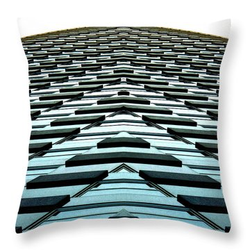 Abstract Buildings 1 Throw Pillow by J D Owen