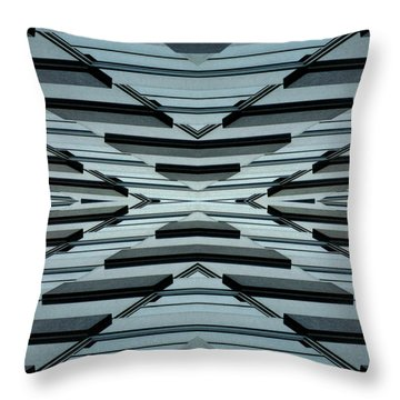 Abstract Buildings 3 Throw Pillow by J D Owen