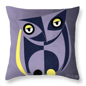 Bird Throw Pillow by Mark Ashkenazi