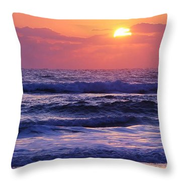 Dawn Of A New Day Throw Pillow by Bruce Bley