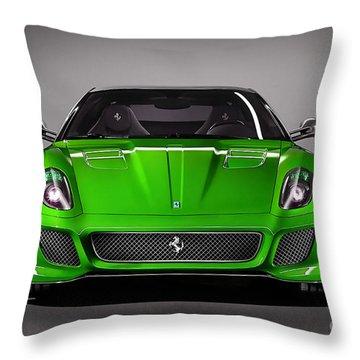 Ferrari 559 Gto Sports Car Throw Pillow by Marvin Blaine