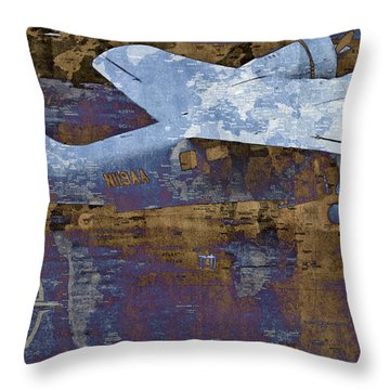 Flight Throw Pillow by Molly McPherson
