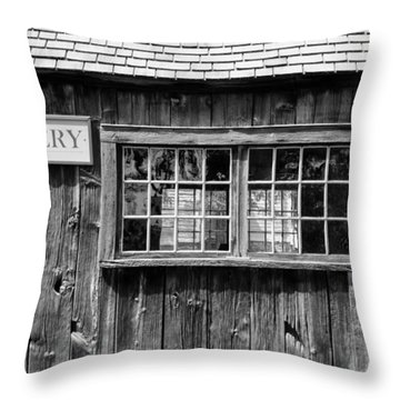 Flint Hill Pottery Throw Pillow by Guy Whiteley