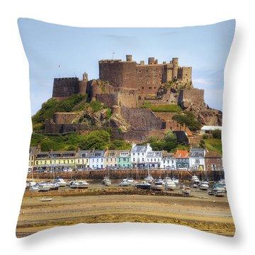 Gorey Castle - Jersey Throw Pillow by Joana Kruse