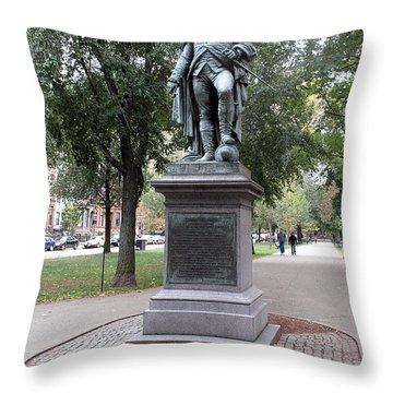John Glover (1732-1797) Throw Pillow by Granger