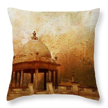Makli Hill Throw Pillow by Catf