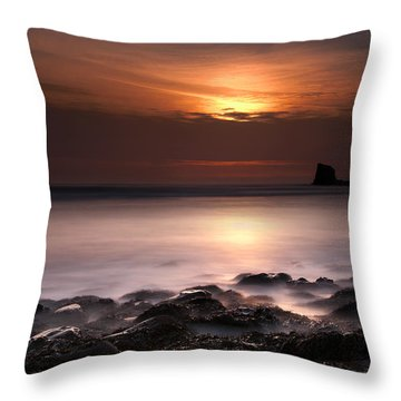 Saltwick Bay Throw Pillow by Svetlana Sewell