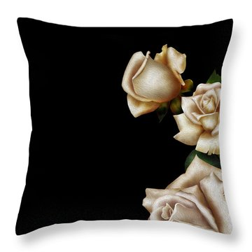 Trio Throw Pillow by Cheryl Young