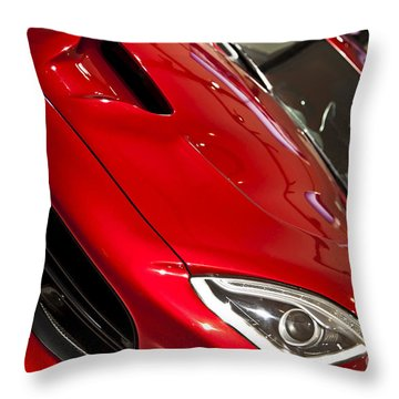 2013 Dodge Viper Srt Throw Pillow by Kamil Swiatek