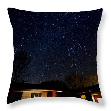 28 Gems Throw Pillow by Matt Molloy
