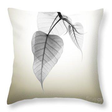 Pho Or Bodhi Throw Pillow by Atiketta Sangasaeng