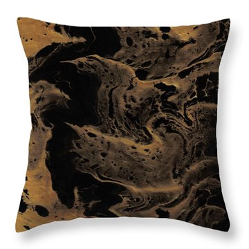 Abstract 24 Throw Pillow by J D Owen