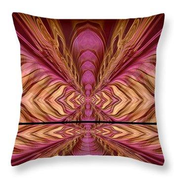 Abstract 74 Throw Pillow by J D Owen